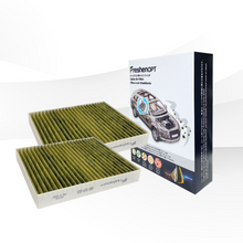 Load image into Gallery viewer, 2 pack FreshenOPT I Premium Cabin Air Filter for VW Volkswagen OE#: 6R0 819 653