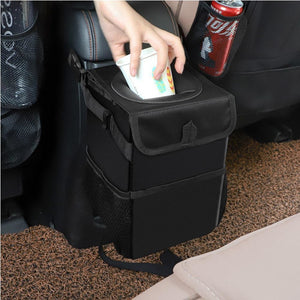 Waterproof Car Trash Can With Lid (Online Exclusive)