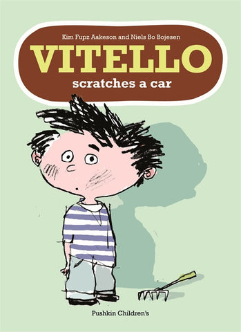 Vitello Scratches a Car