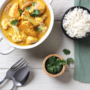 Quick Chicken and Coconut Curry