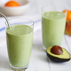 Summer Fruit, Banana and Avocado Smoothie