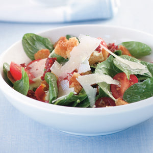 Spinach Salad with French Dressing