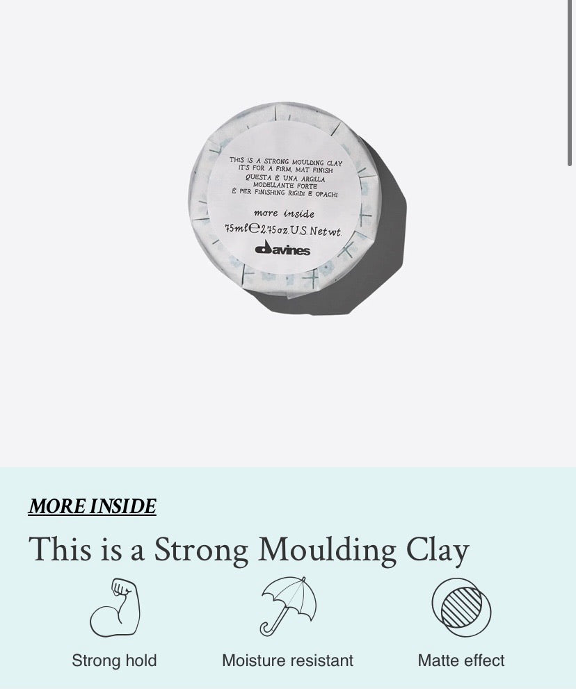 Strong Moulding Clay 75ml