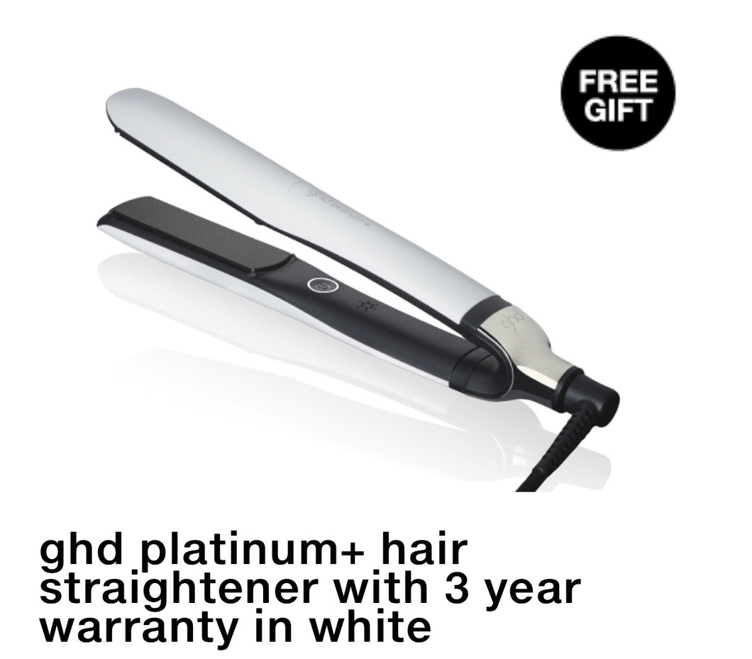WHITE Platinum Plus Professional Styler