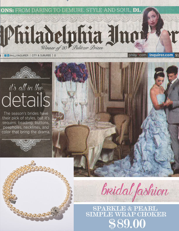 john wind bridal fashion pearl necklace philadelphia inquirer