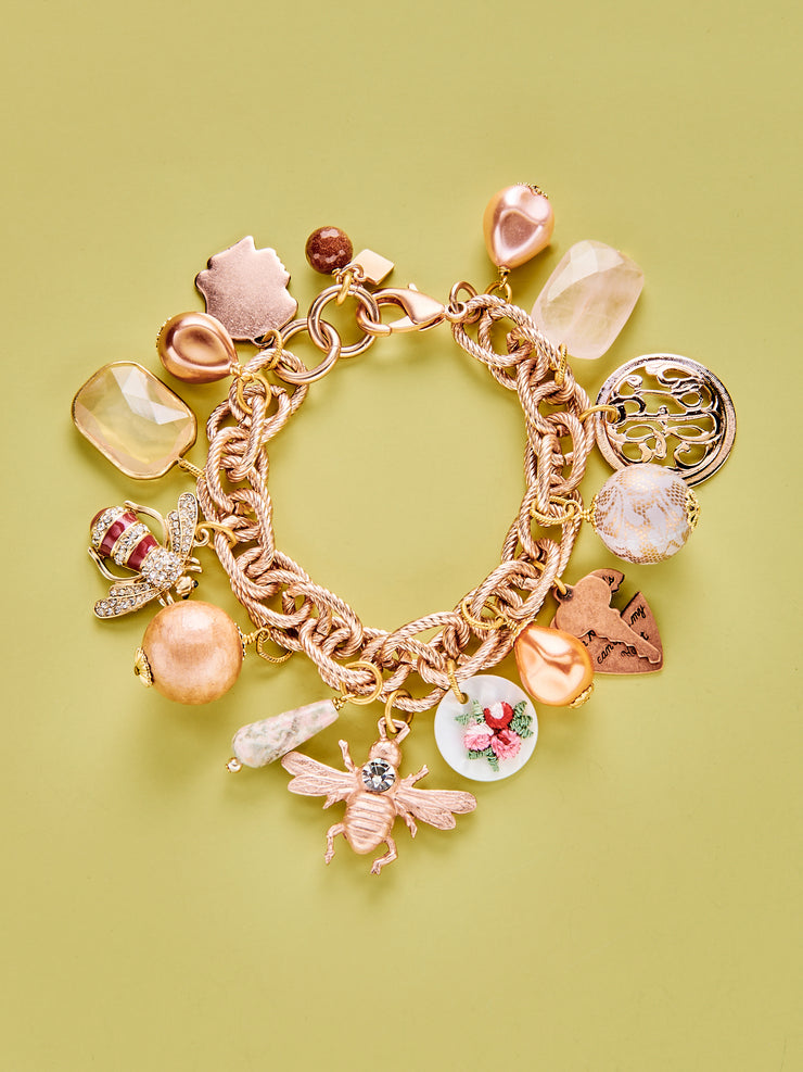Bees in the Rose Garden Limited Edition Bracelet