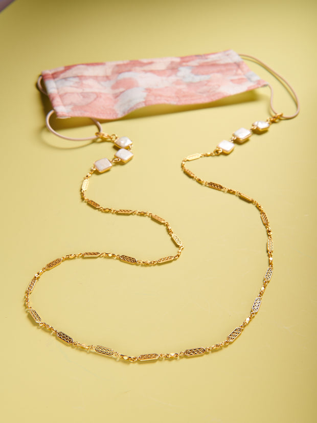 Convertible Pearl Deco Chain