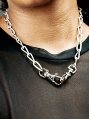 Vintage Biker Chain Necklace