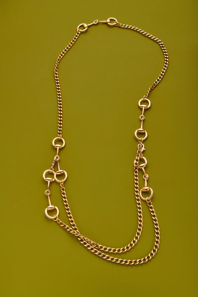 Convertible Horsebit Belt/Necklace
