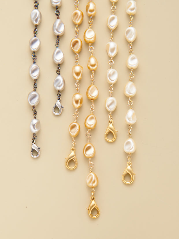 Convertible Petite Baroque Pearl Chains
