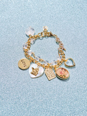 "8.25"" With Love Charm Bracelet"