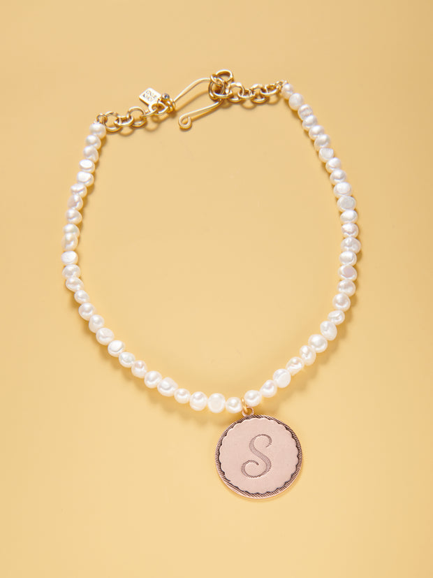 "16-18"" Fresh Water Pearl Sorority Gal Necklace"