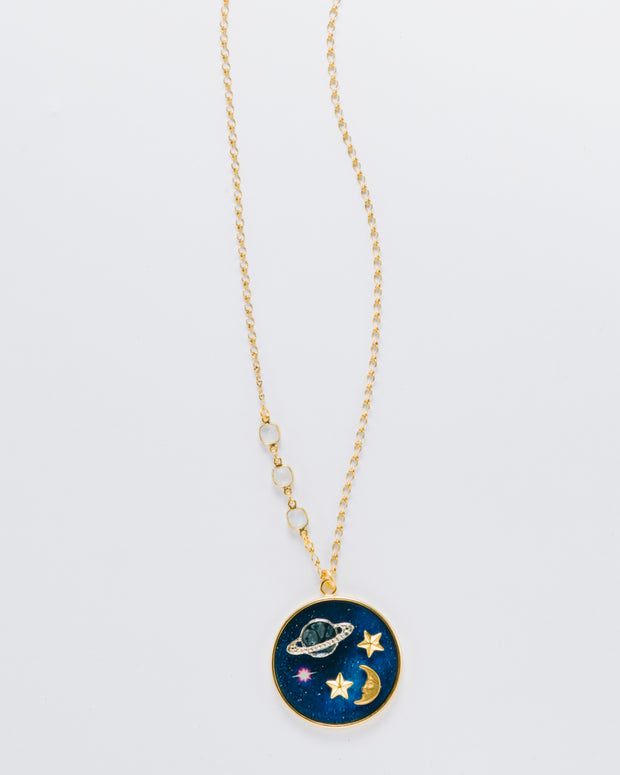 """Reach For The Stars"" Acrylic Necklace"