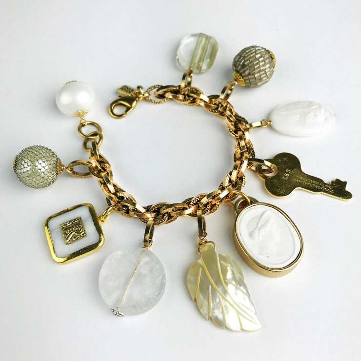 Summer White Limited Edition Charm Bracelet