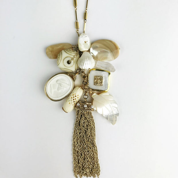 Summer White Limited Edition Charm Necklace