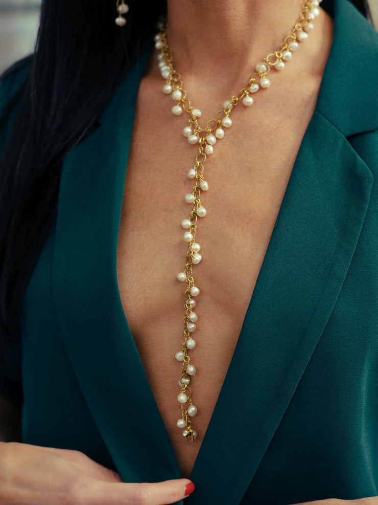 Endless Pearls Necklace