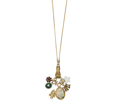 "30"" Under The Tree Charm Necklace"