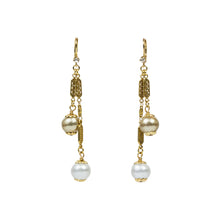 "3"" Swing Cotton Pearl Earring"