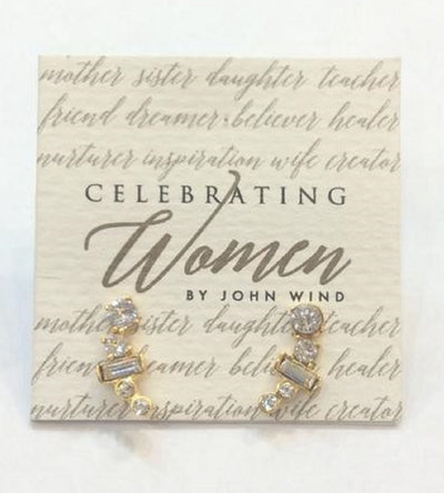 Celebrating Women Crystal Earring Climber