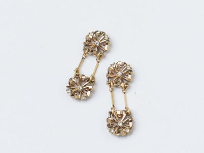 """Double Your Luck"" Clover Earrings"