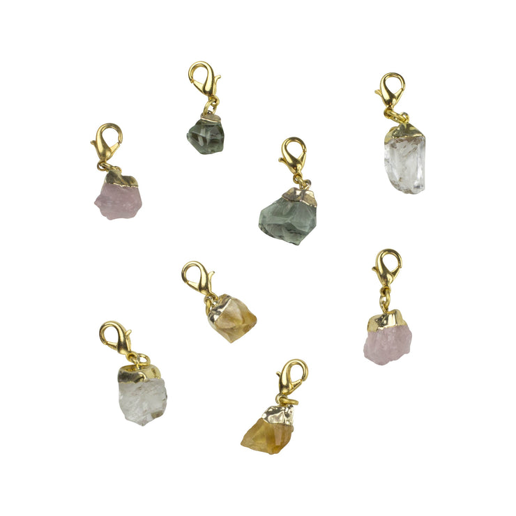 Semi Precious Gem Charms