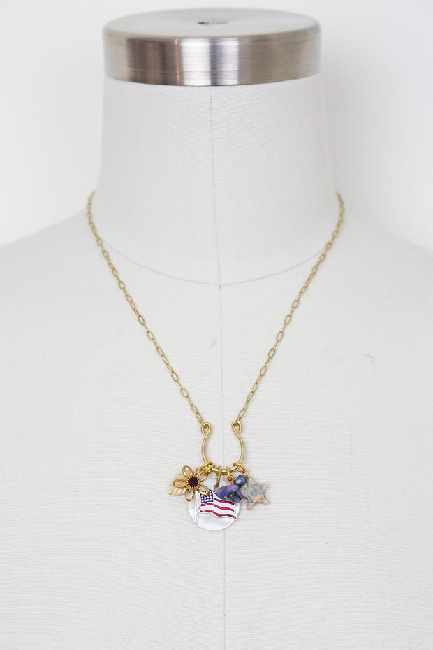 "18"" ""American Beauty"" Limited Edition Charm Necklace"