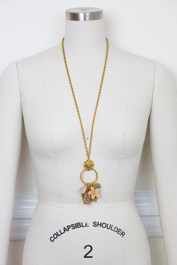 "30-32"" ""Streets of Paris"" Limited Edition Lion Necklace"