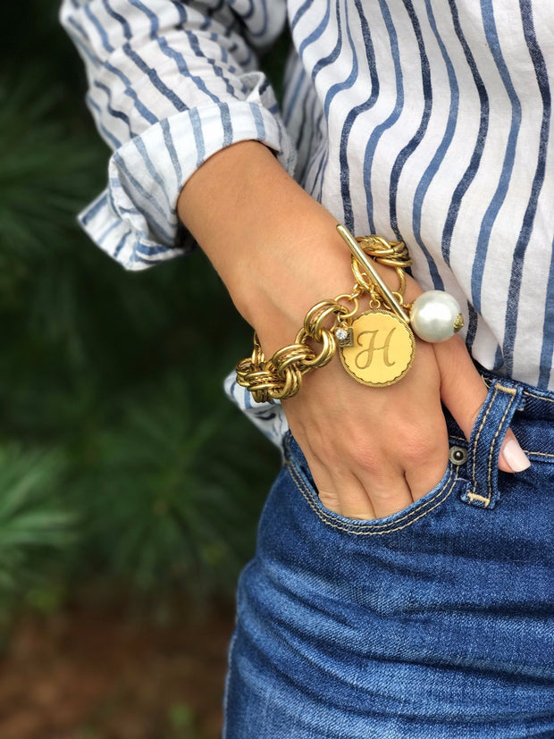 The Collector's Sorority Gal Bracelet in Gold