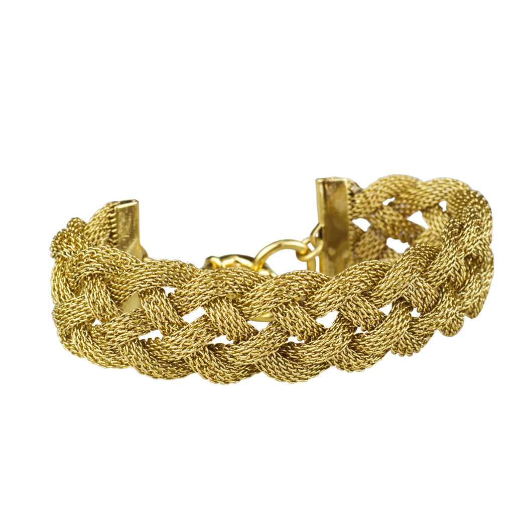 Braided Mesh Bracelet John Wind Maximal Art