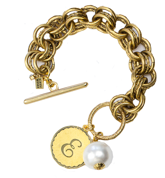 NEW! The Collector's Sorority Gal Bracelet in Gold