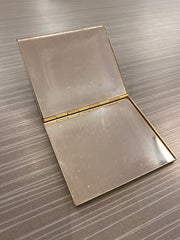"""The Two-Tone"" Vintage Compact Mirror"