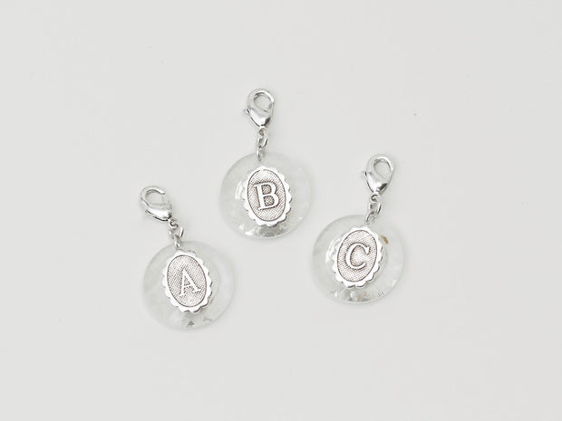 Crystal Initial Charms