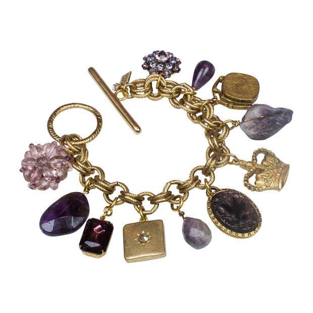 Limited Edition Ultra Violet Charm Bracelet