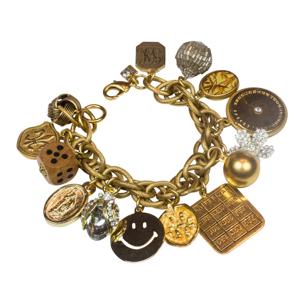 Limited Edition Get Happy Charm Bracelet