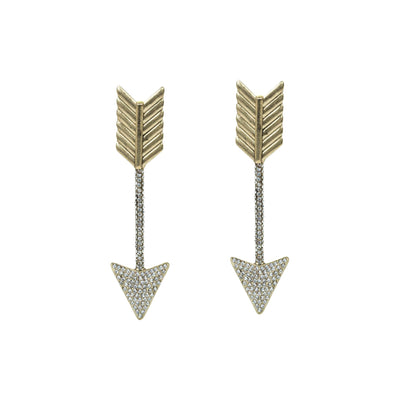 Shoot for the Stars Arrow Earrings