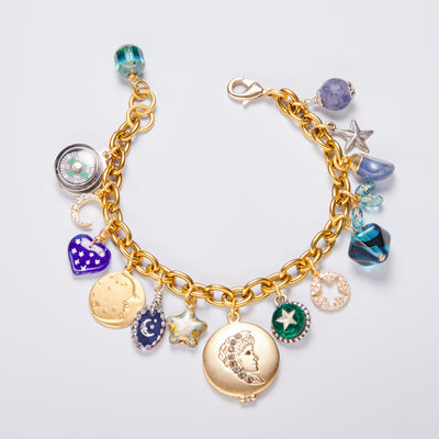 "Limited Edition ""Woman in The Moon"" Charm Bracelet"