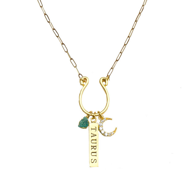 Zodiac Charm Necklaces - John Wind Modern Vintage Jewelry - 3