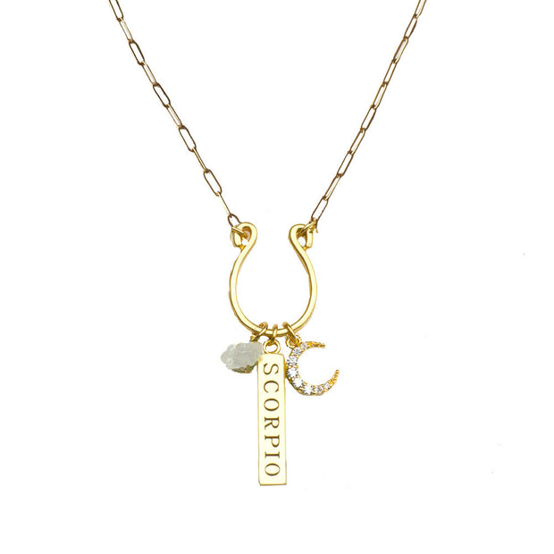 Zodiac Charm Necklaces - John Wind Modern Vintage Jewelry - 4