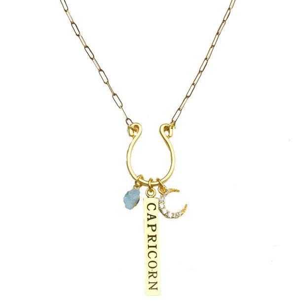 Zodiac Charm Necklaces - John Wind Modern Vintage Jewelry - 5