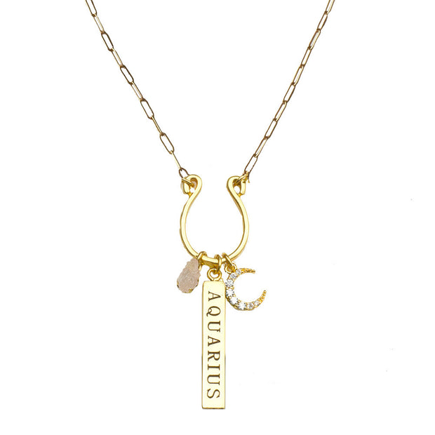 Zodiac Charm Necklaces - John Wind Modern Vintage Jewelry - 6