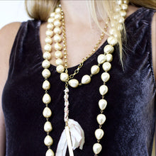 "68"" Endless Baroque Pearl Necklace - John Wind Modern Vintage Jewelry - 2"