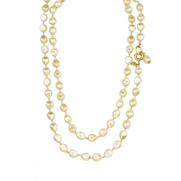 "68"" Endless Baroque Pearl Necklace"