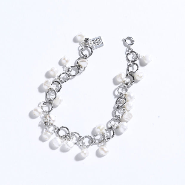 Endless Pearls Bracelet