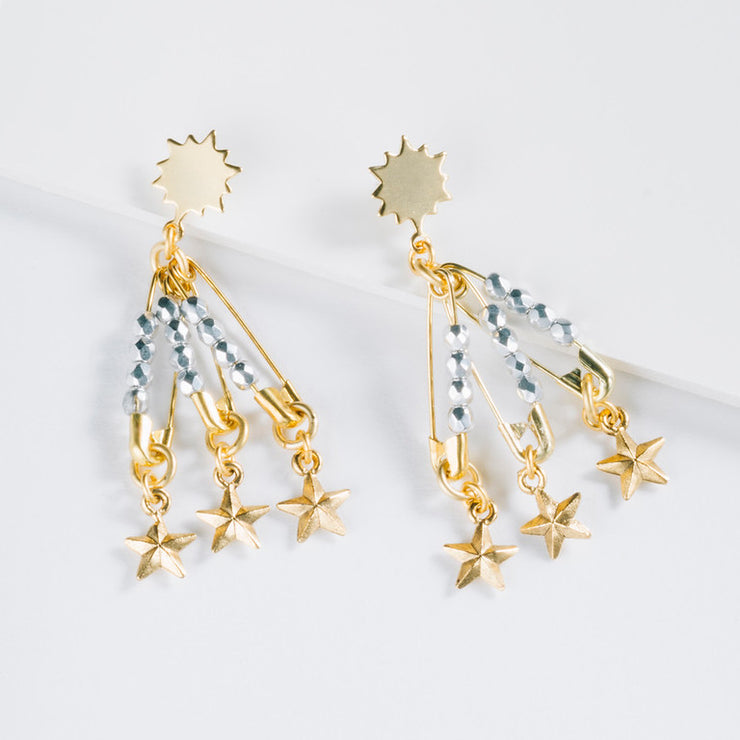 Punk Star Earrings