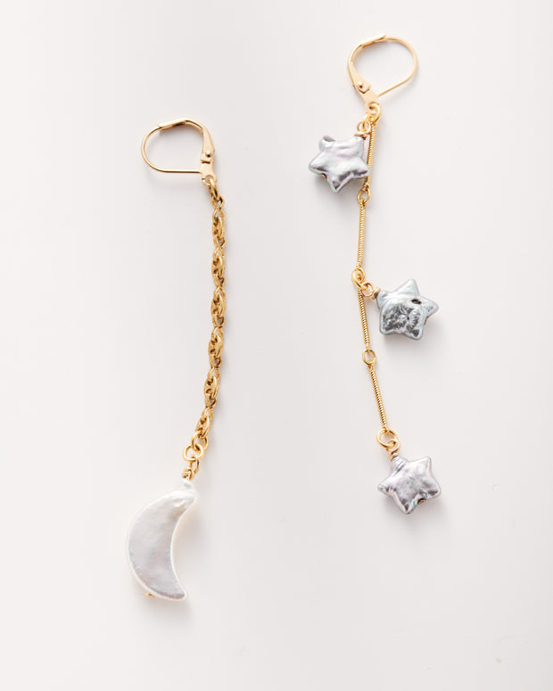 Twinkling Stars Swing Earring