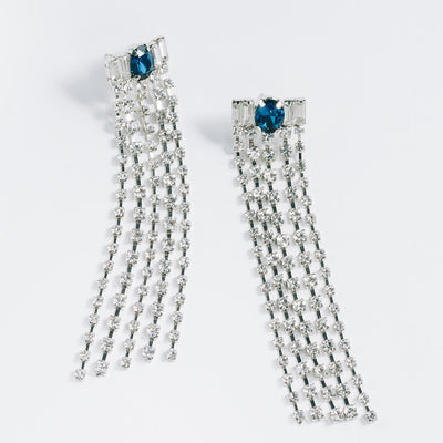 Gatsby Girl Fringe Earrings