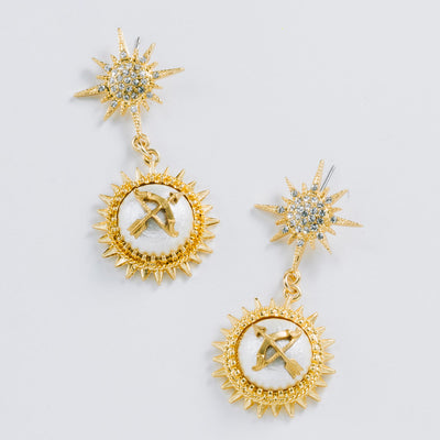 """Star Lover"" Drop Earrings"
