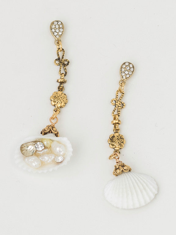 """Sunken Treasure"" Petite Drop Earrings"
