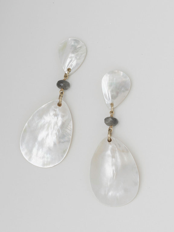 Statement Shell Drop Earrings