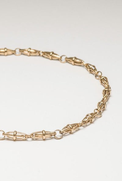 "18"" Orbit Vintage Chain Necklace"
